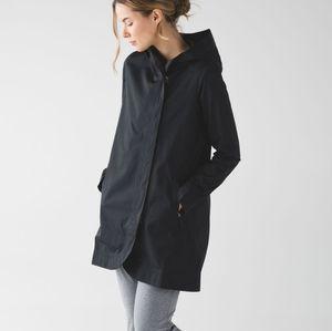 Rare Lululemon Savasana Waterproof Rain Jacket